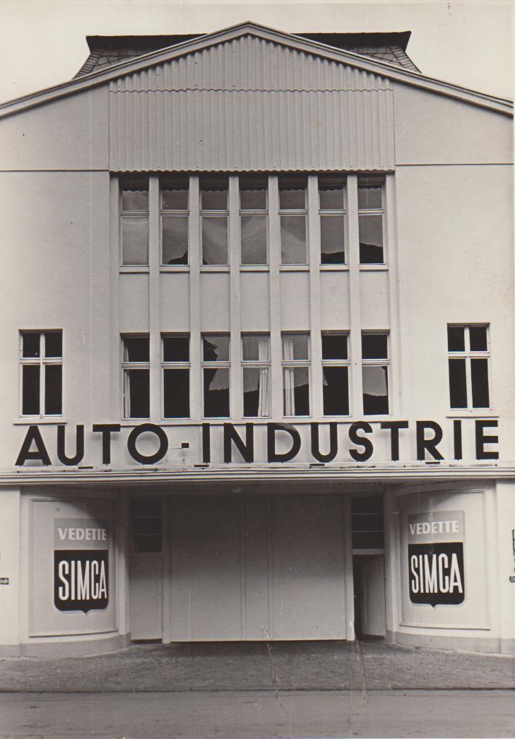 Fordgarage 1956 (Foto: M.R. Platte)